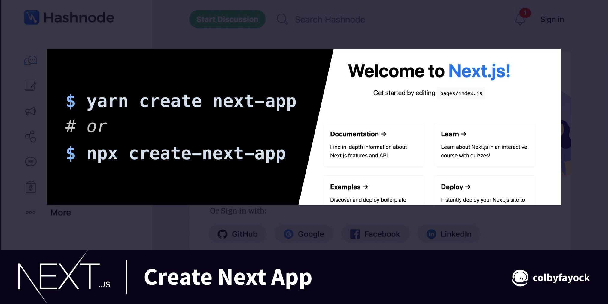 Create Next App