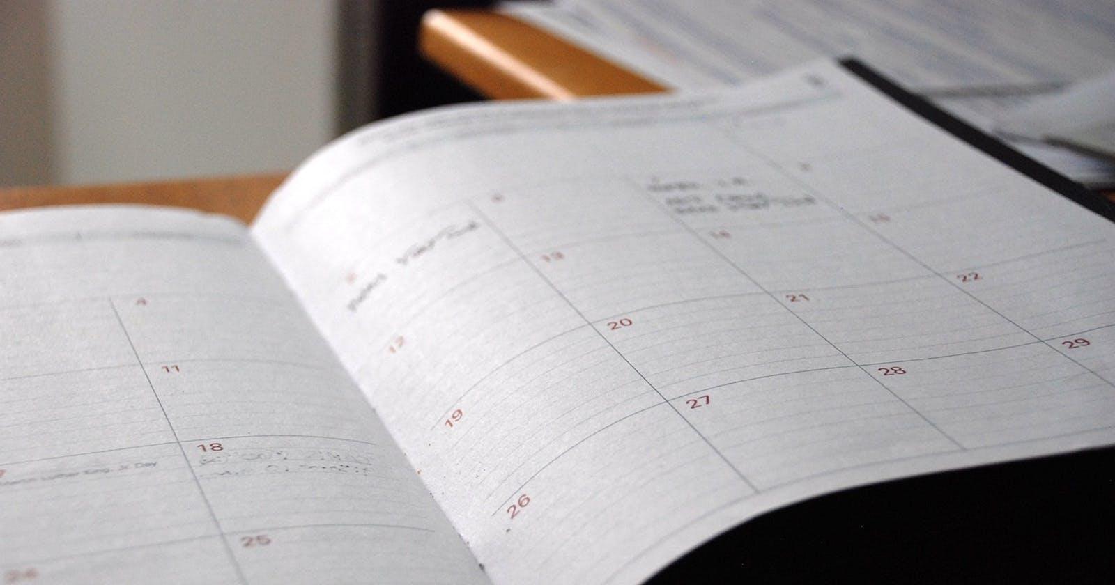 Publishing Service: Scheduled publishing