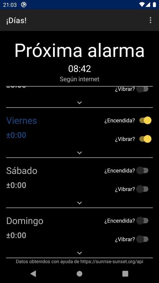 Captura de pantalla de ¡Días!
