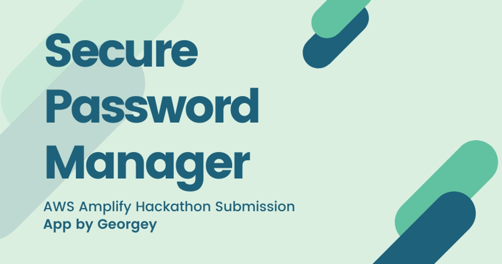Secure Password Manager:  MERN stack app- Using Cryptr Encryption Package