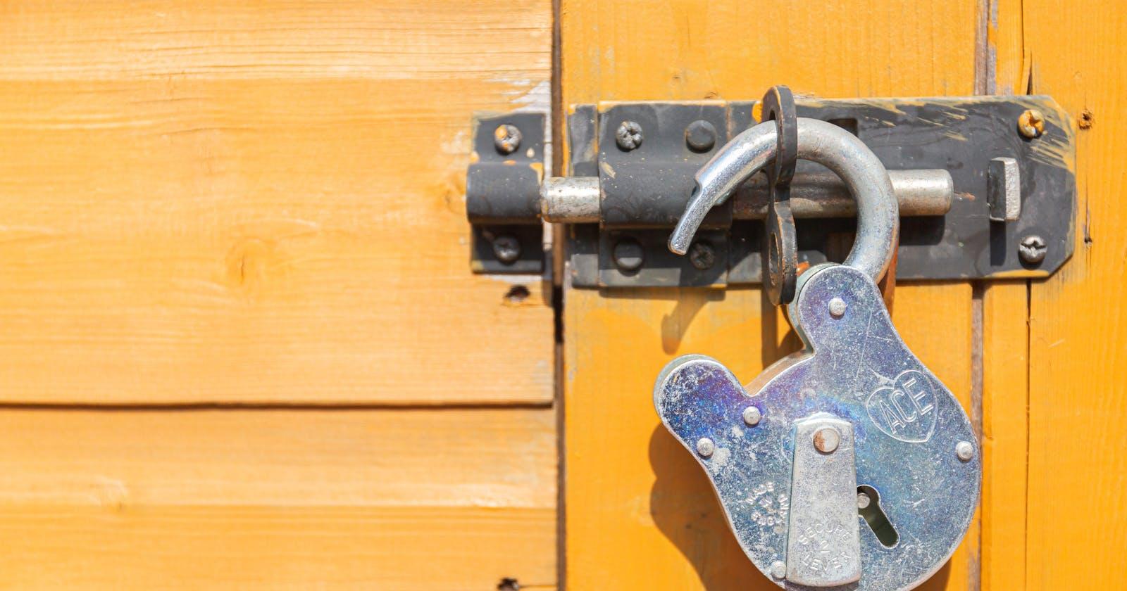 EXM and encryption keys