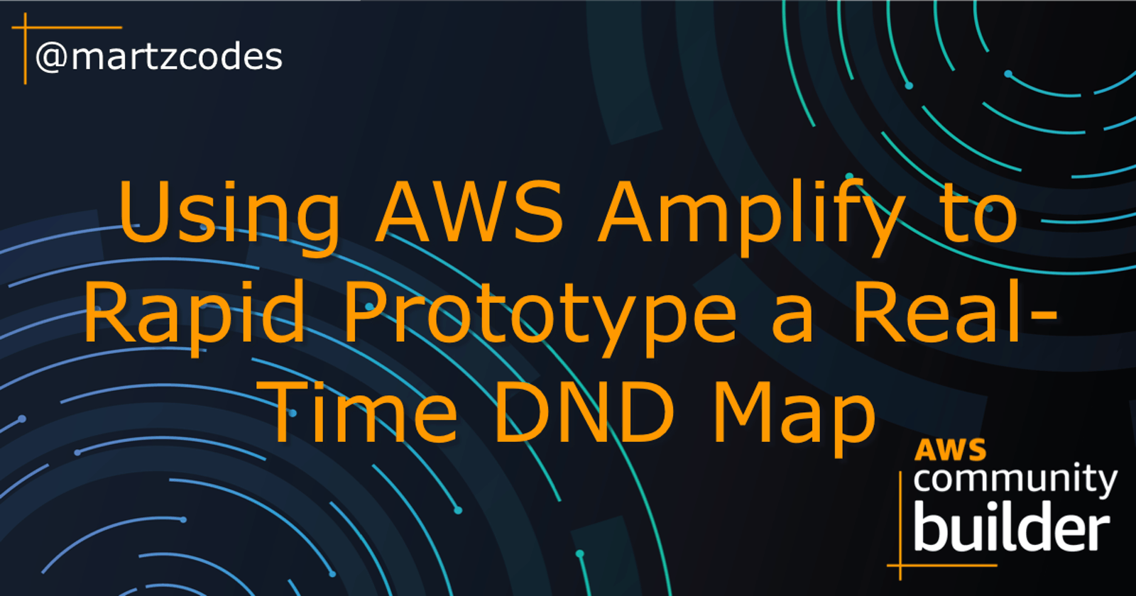 Using AWS Amplify to Rapid Prototype a Real-Time Dungeons&Dragons Map