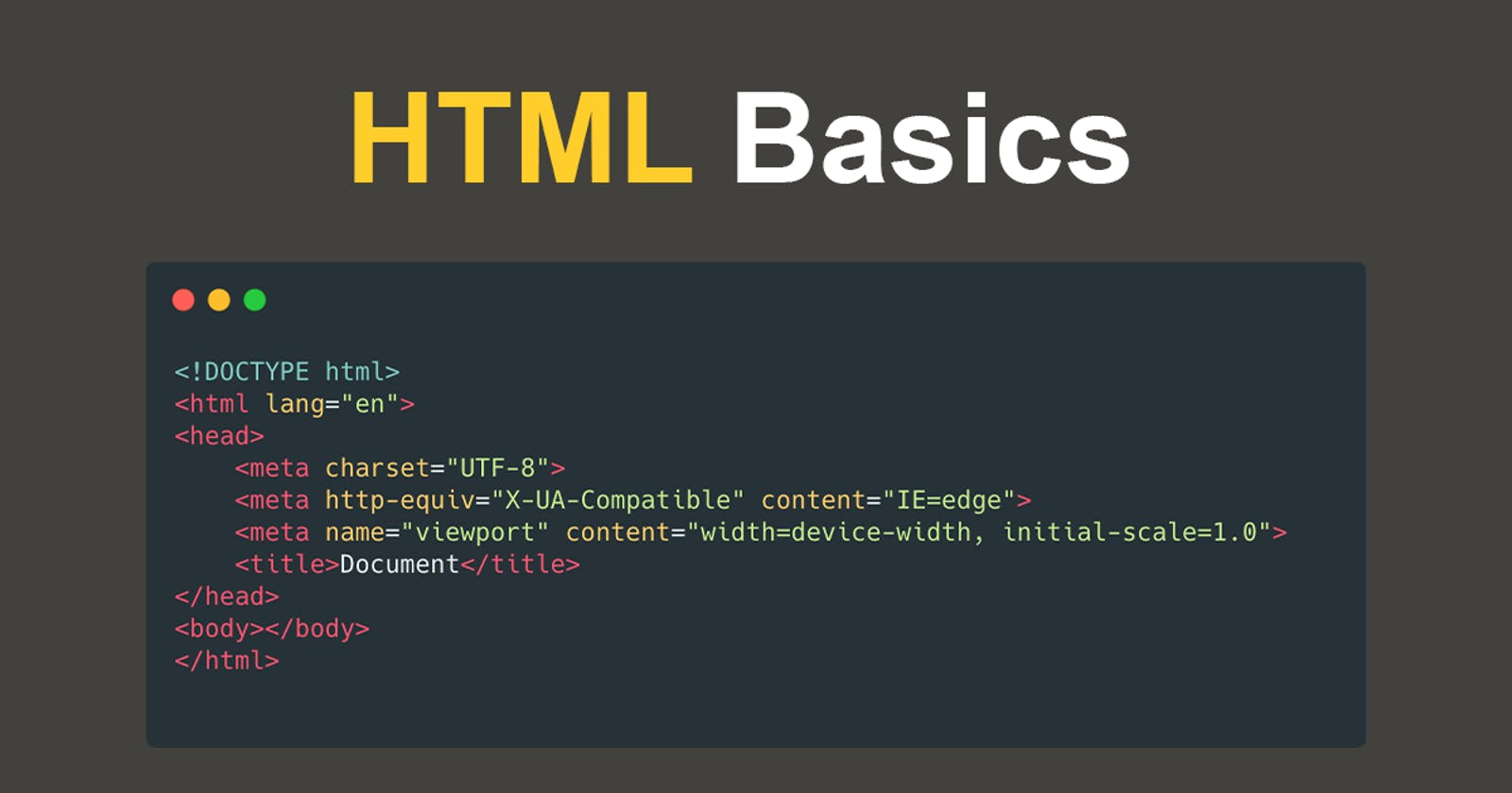 What is semantic HTML?