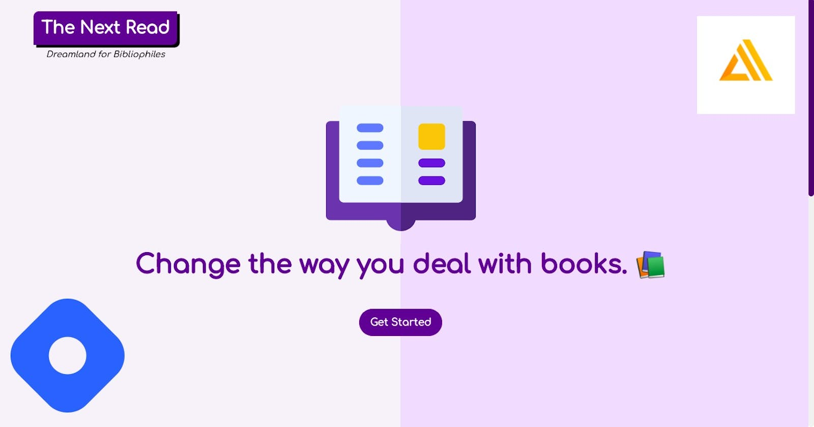 The Next Read - Web app to help you deal with books better