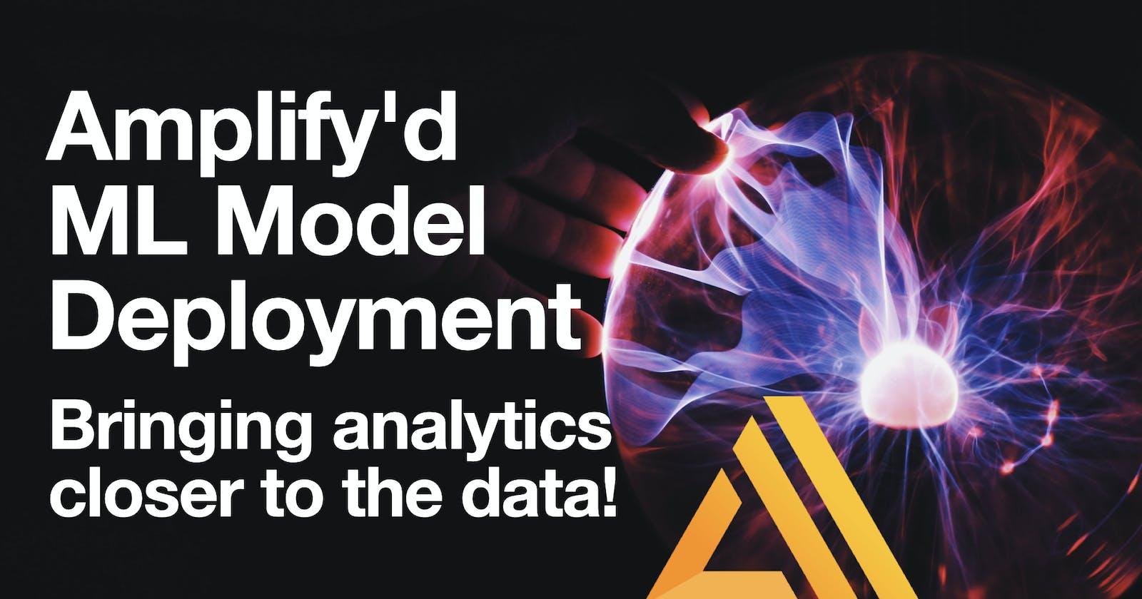 Amplify'd ML Model Deployment - Part IV: Model Scoring Application in Flutter