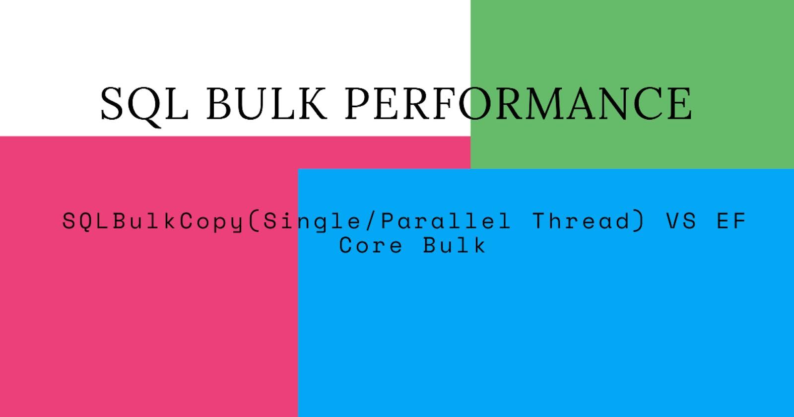 SQL Insert Race ! (Performance)