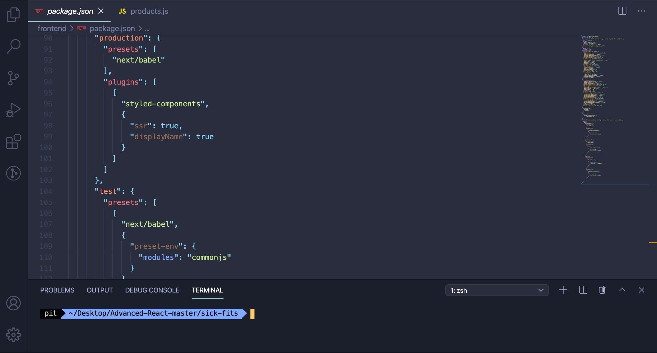 Material Theme VS Code Theme