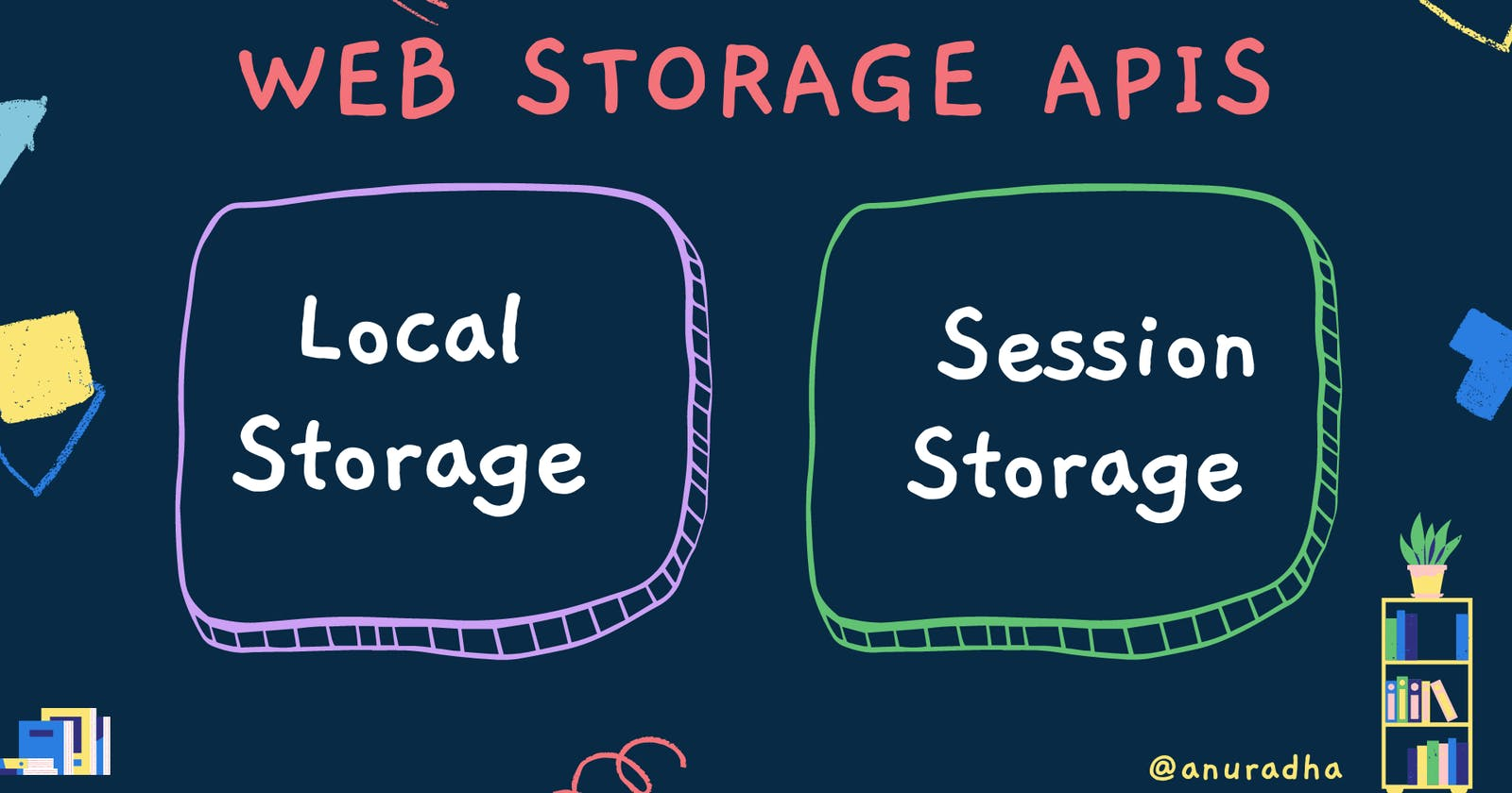 Web Storage APIs