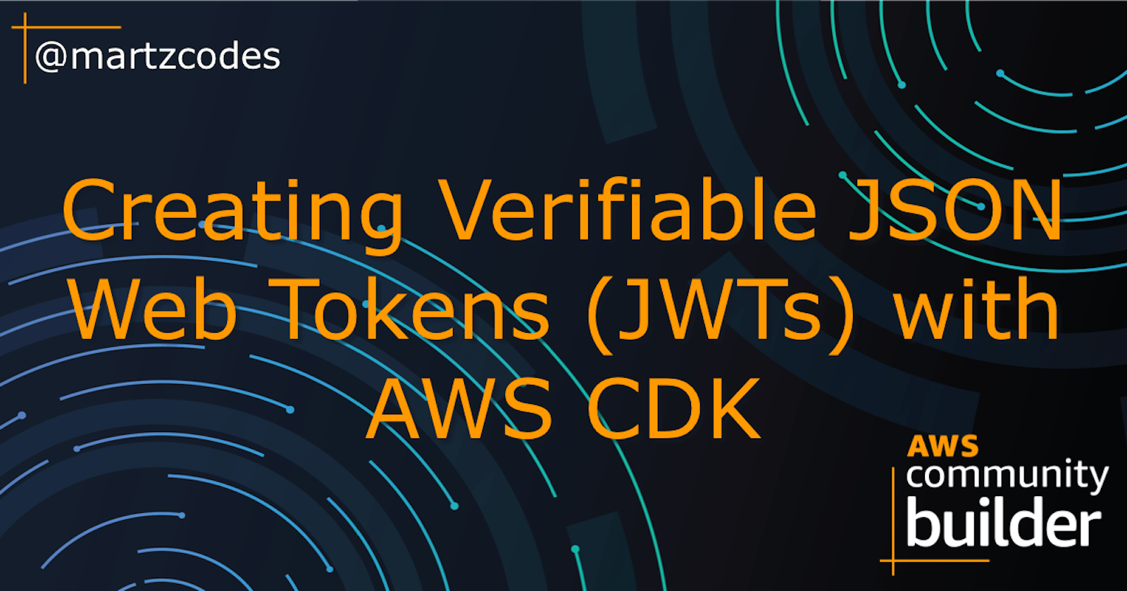 Creating Verifiable JSON Web Tokens (JWTs) with AWS CDK