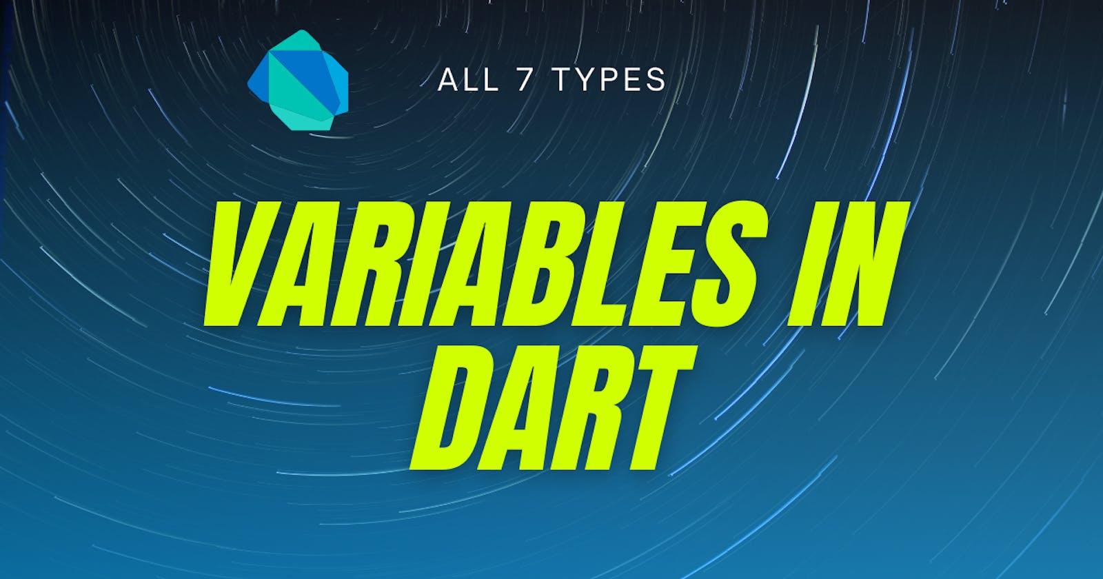 Variables in dart