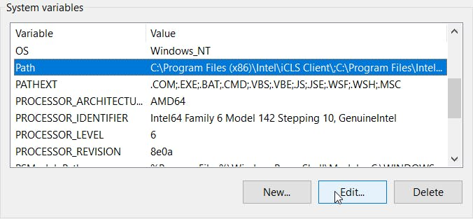 clicking on edit will lead you to the below window