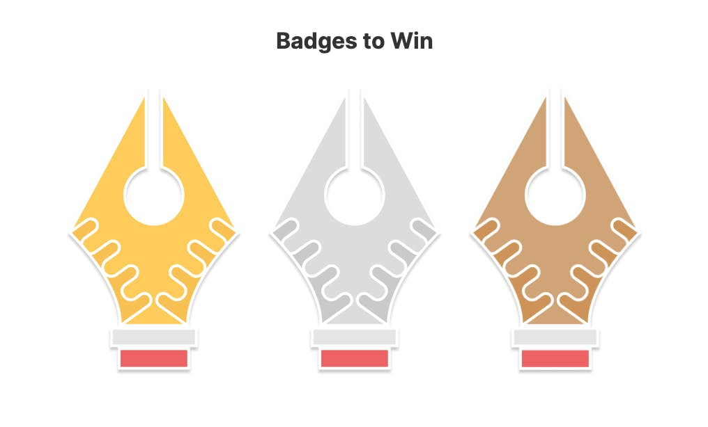 Badges to win