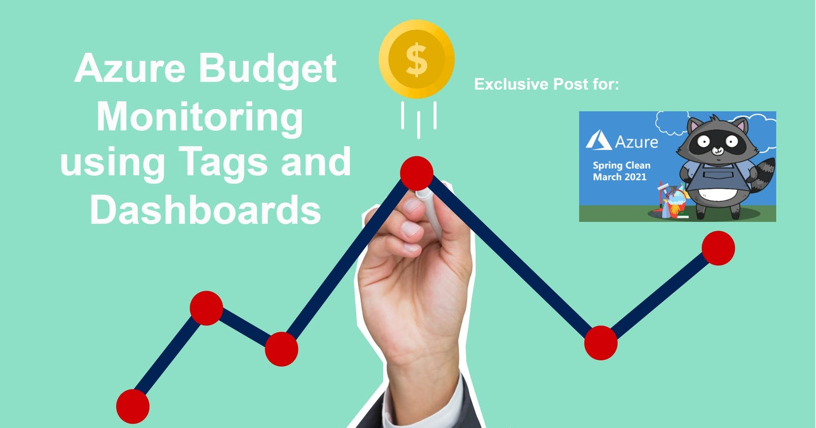 Azure Budget Monitoring using Tags and Dashboards