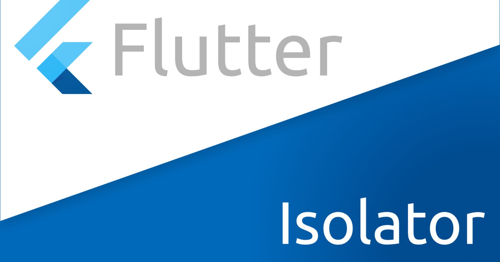 Why should you use isolates in Flutter?