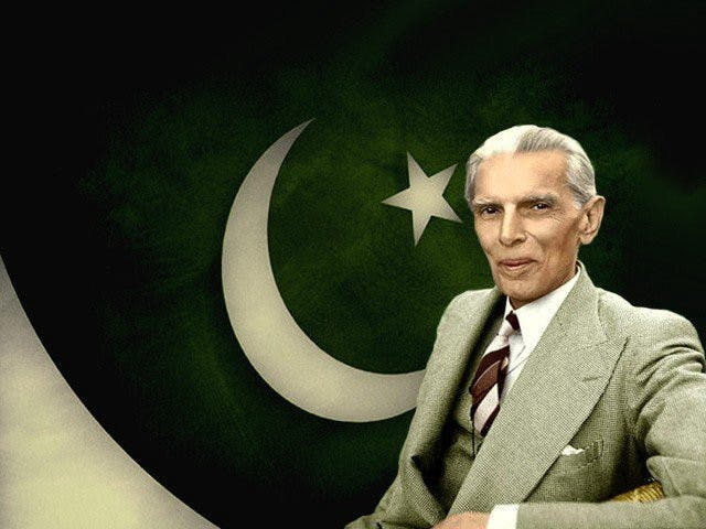 Founder of Pakistan,Quaid-e-Azam Muhammad Ali Jinnah.