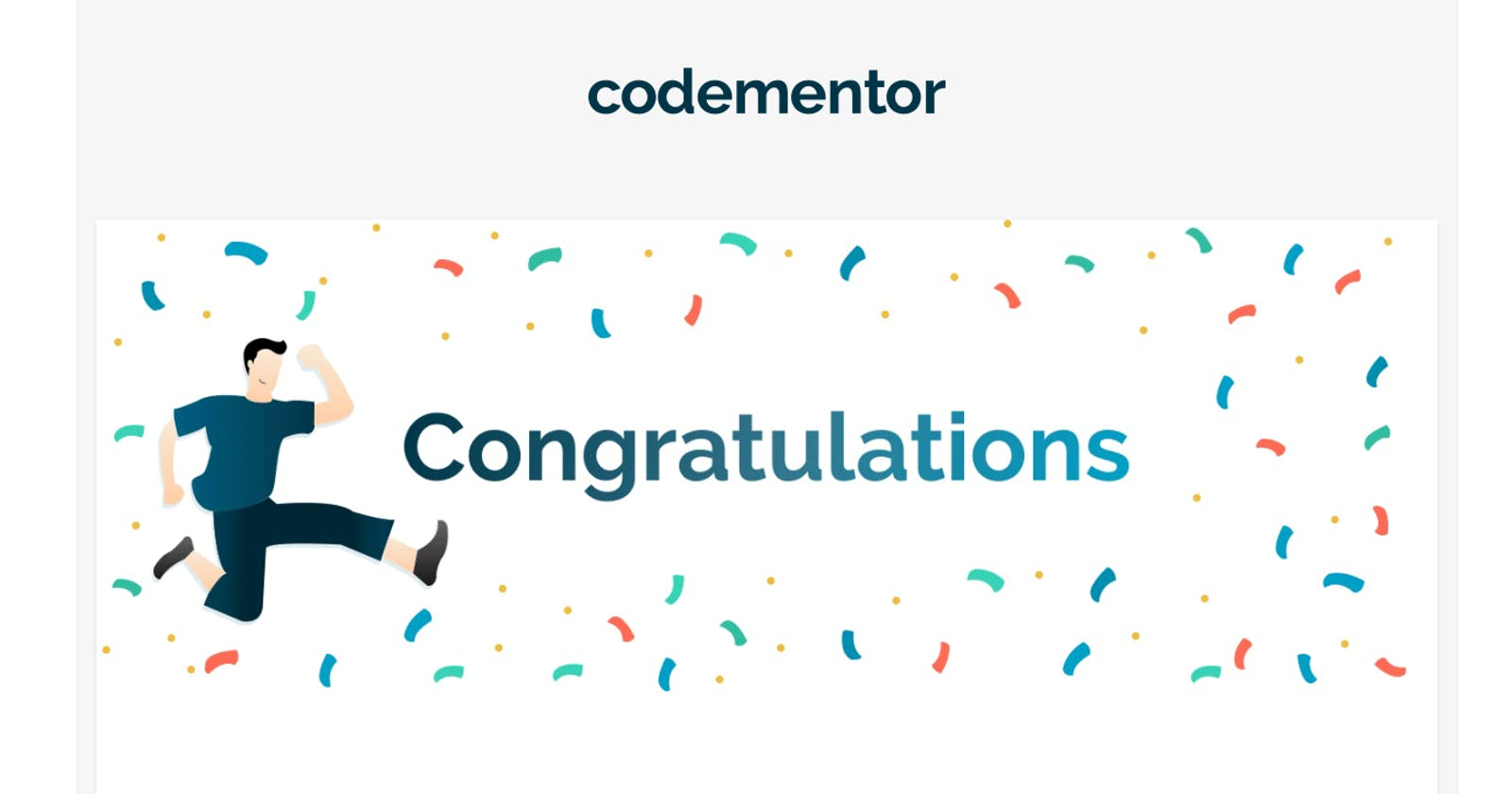 Just got accepted on CodeMentor 🎉