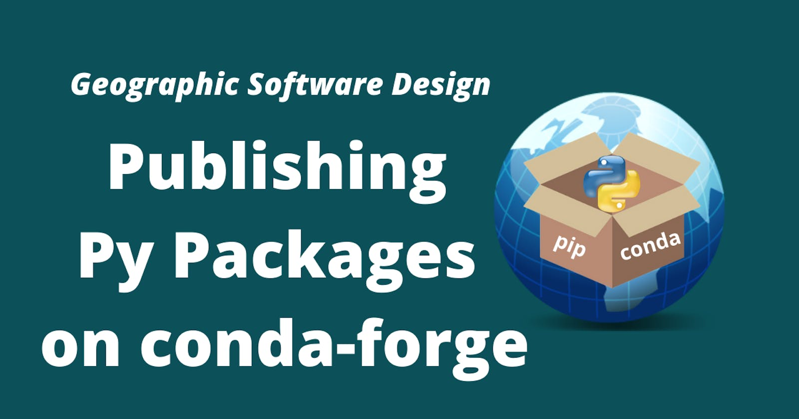 How to publish a Python package on conda-forge