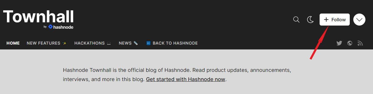 Townhall by Hashnode