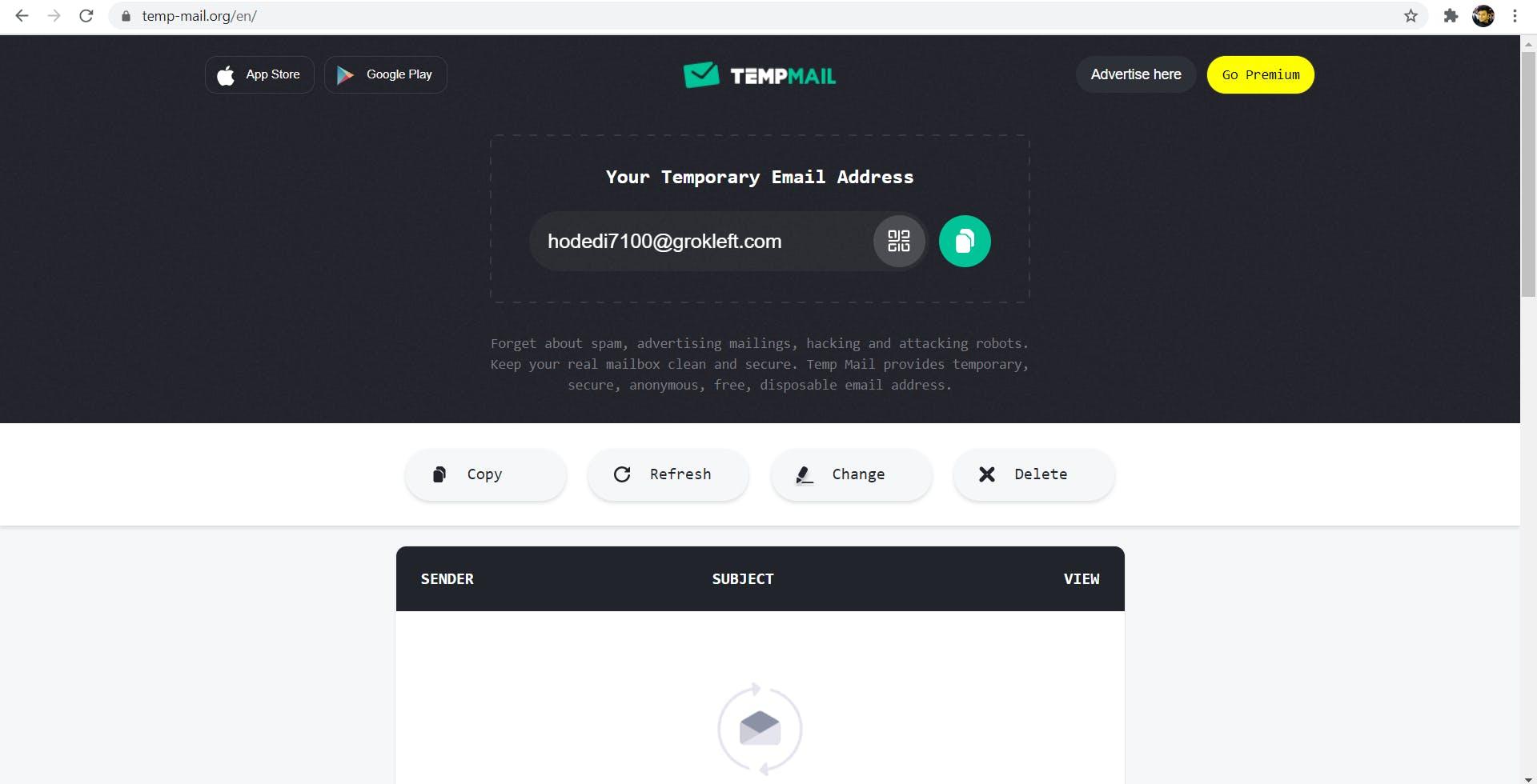 Temp-mail