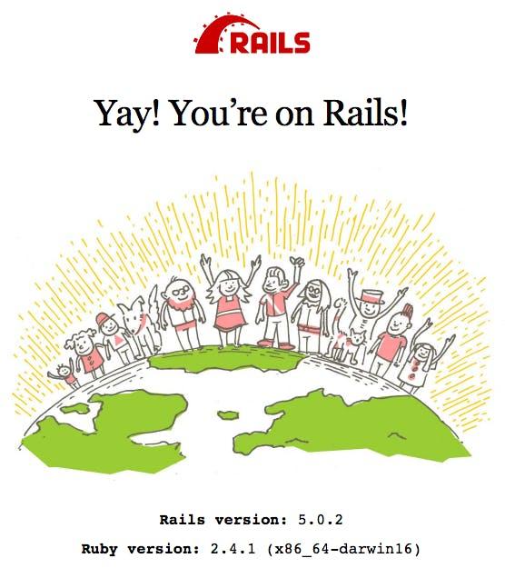 Rails default home