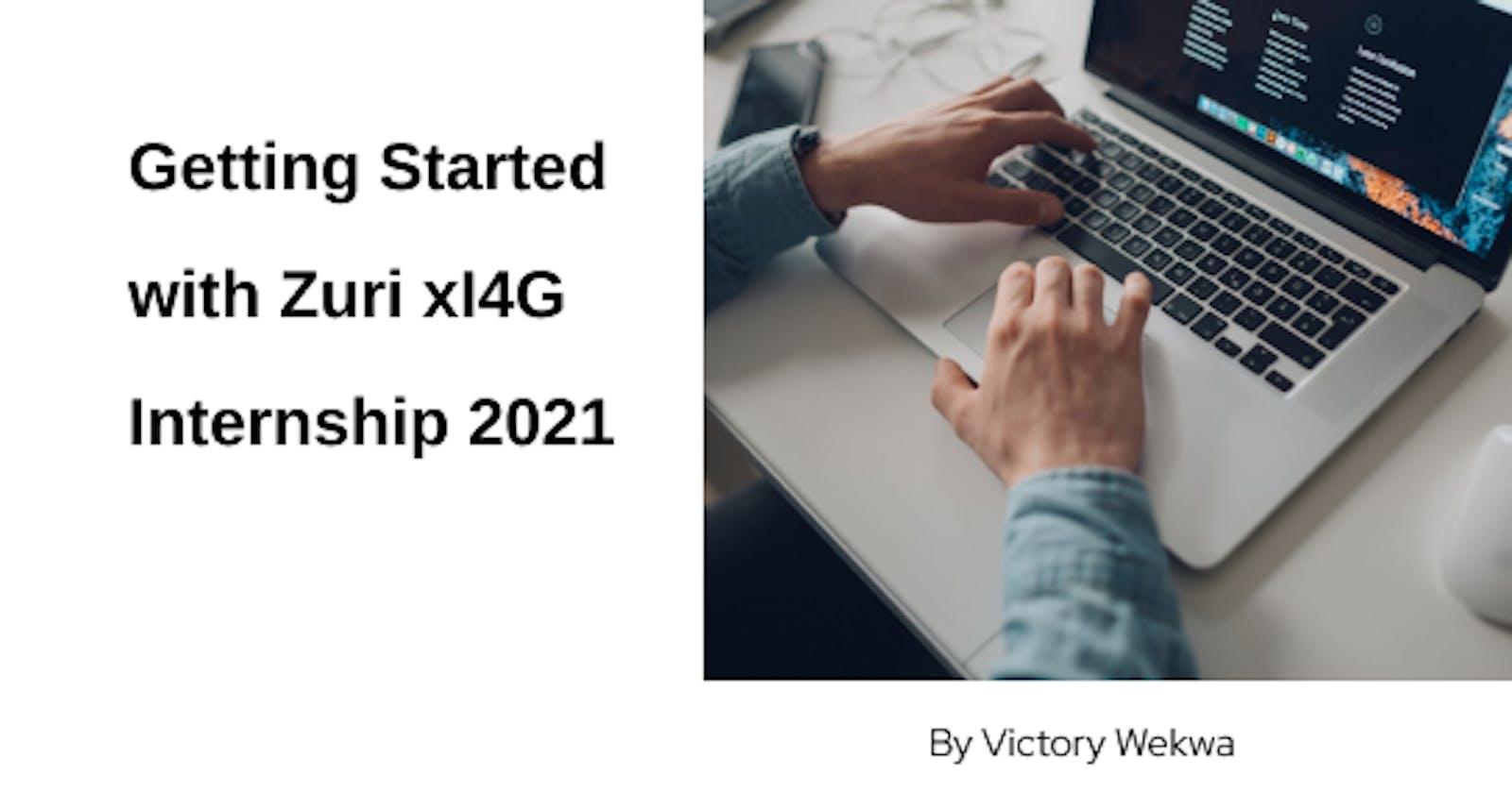 Getting Started with Zuri X Ingressive For Good Internship 2021