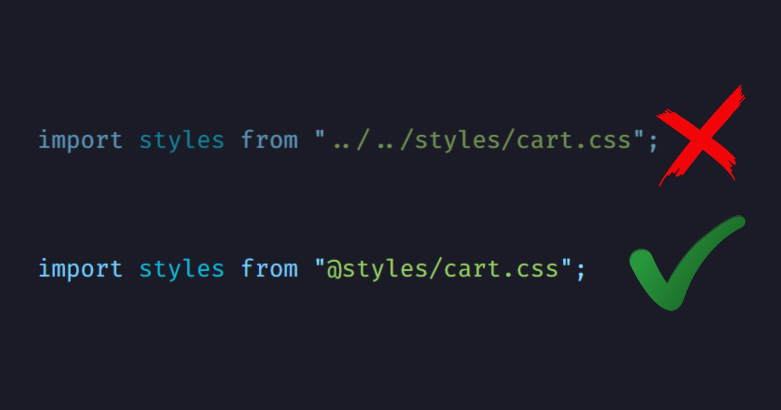 Life-saving path import trick in VS Code ⚡