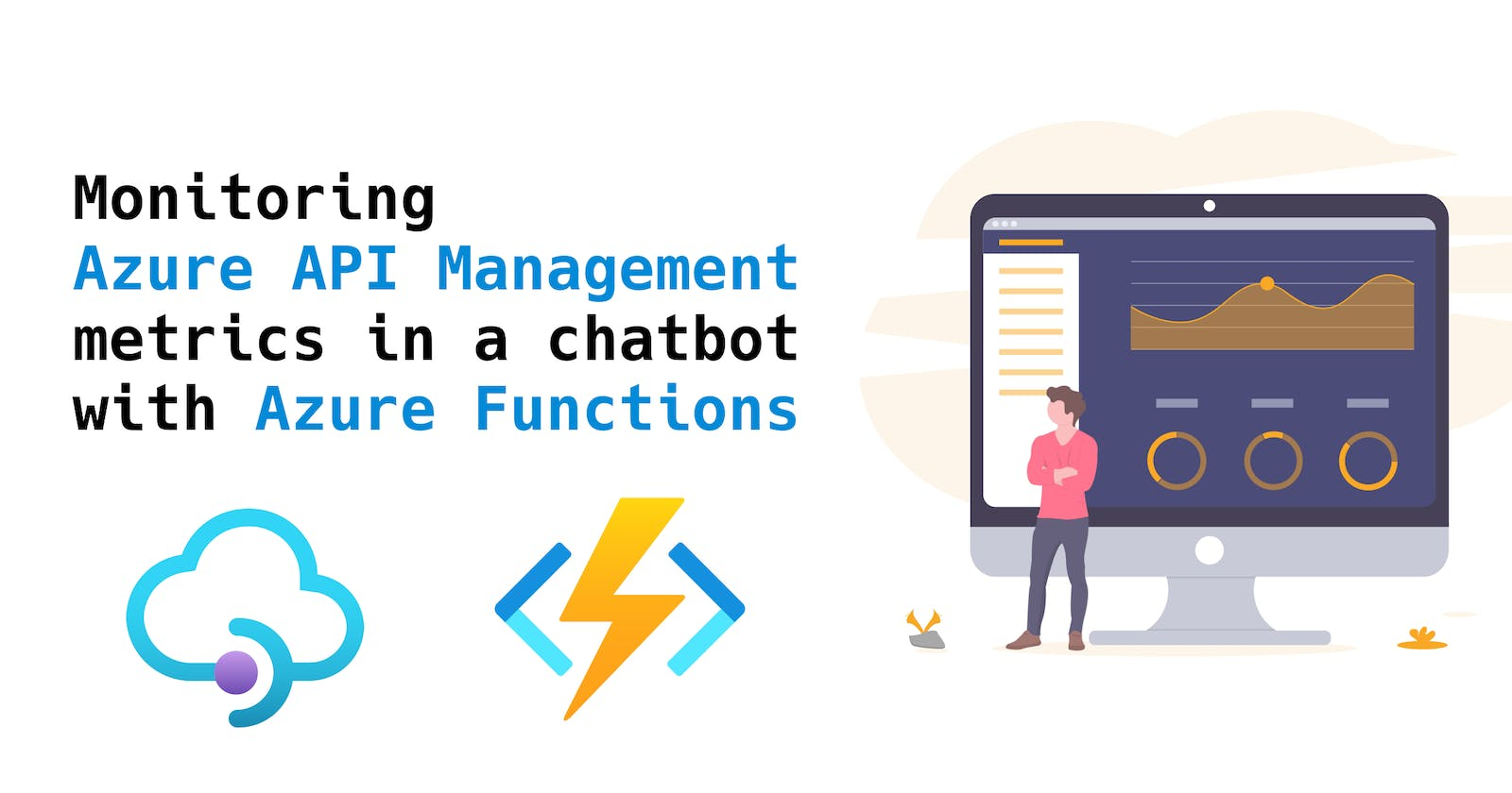 Monitoring Azure API Management metrics in a chatbot with Azure Functions