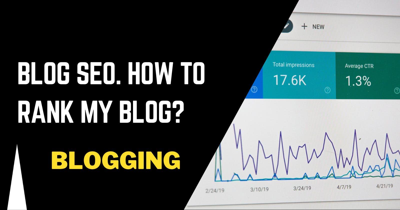 Dev Blog SEO. How to rank my blog? Should I cross-post?