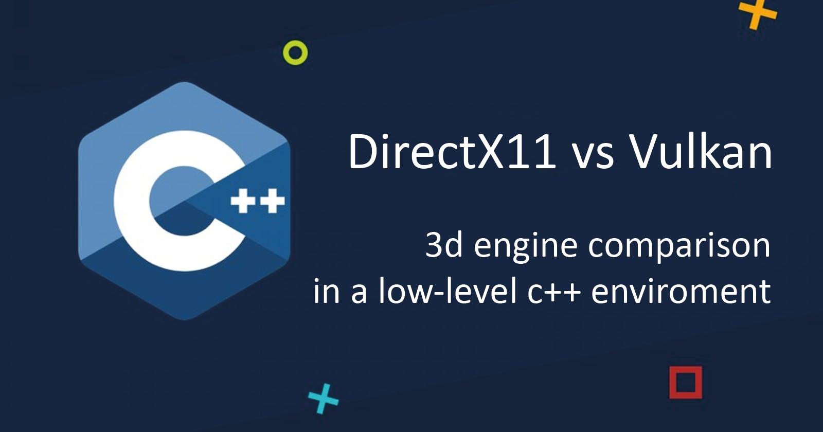 Benchmarking DirectX11 vs Vulkan in a low-level C++ environment