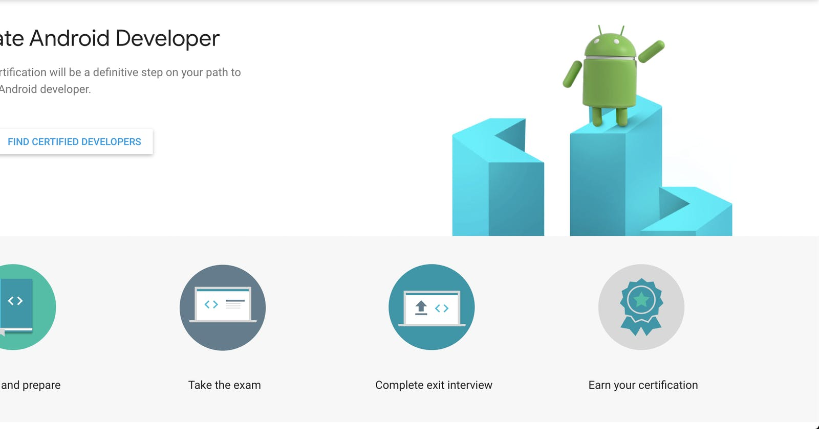 The path to Associate Android Developer Certification