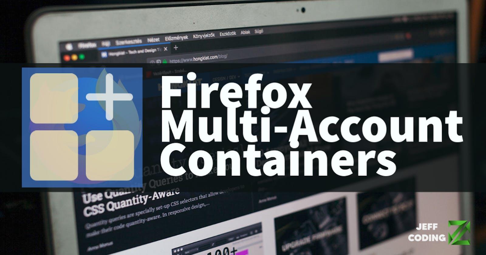 Firefox Multi-Account Containers: aumenta tu privacidad al navegar en la web