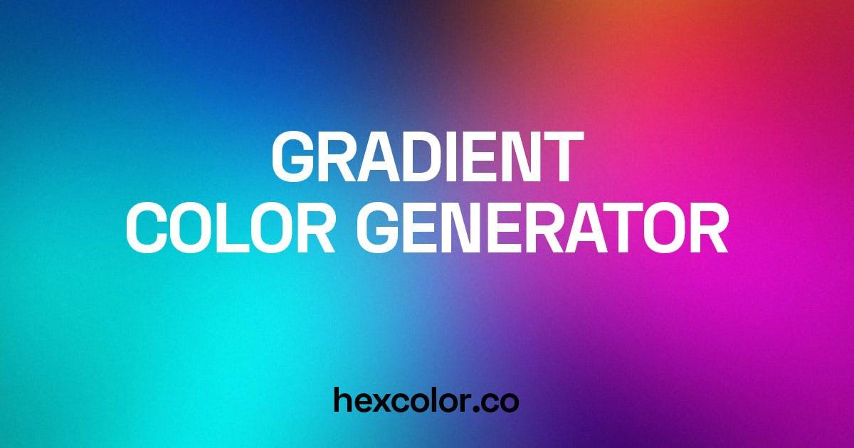gradient color generator