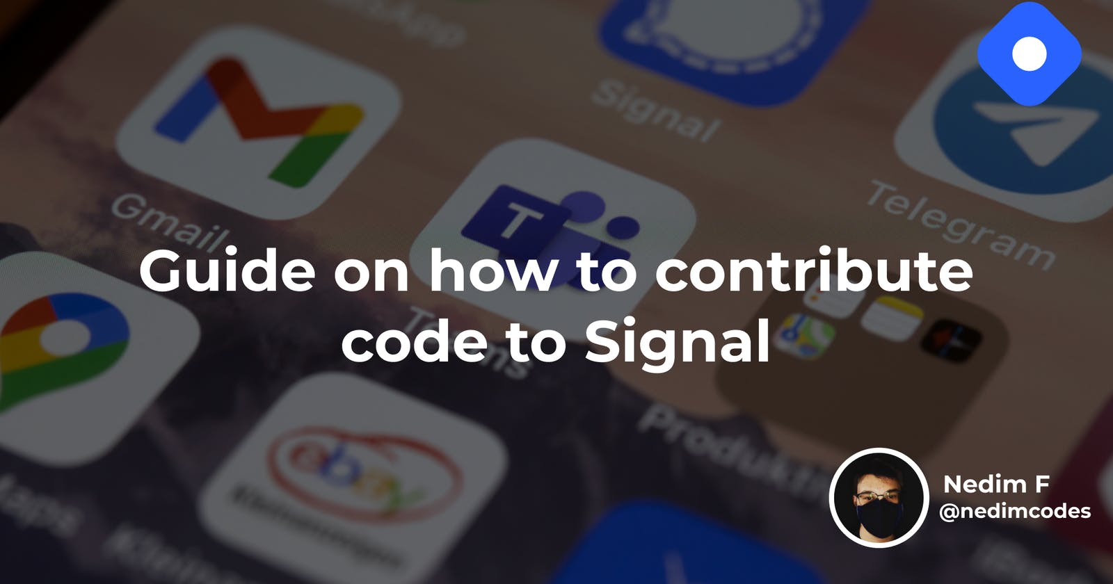 Guide on how to contribute code to Signal