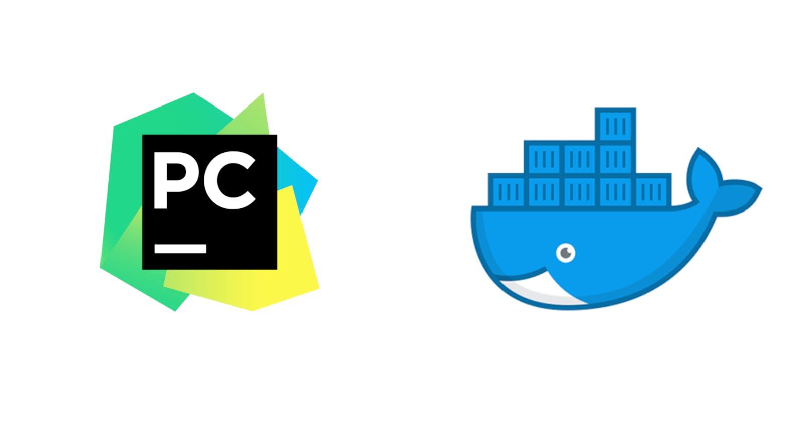 Setup PyCharm to use a Django project in docker