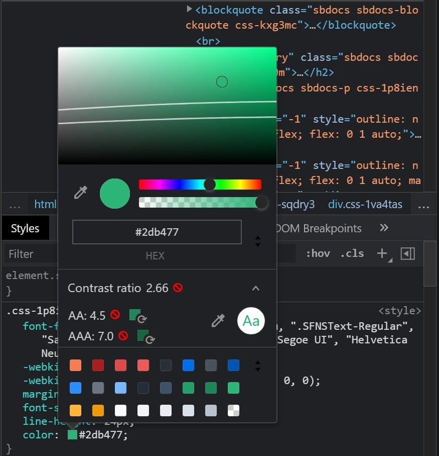 Color Contrast In Developer Tools.jpg