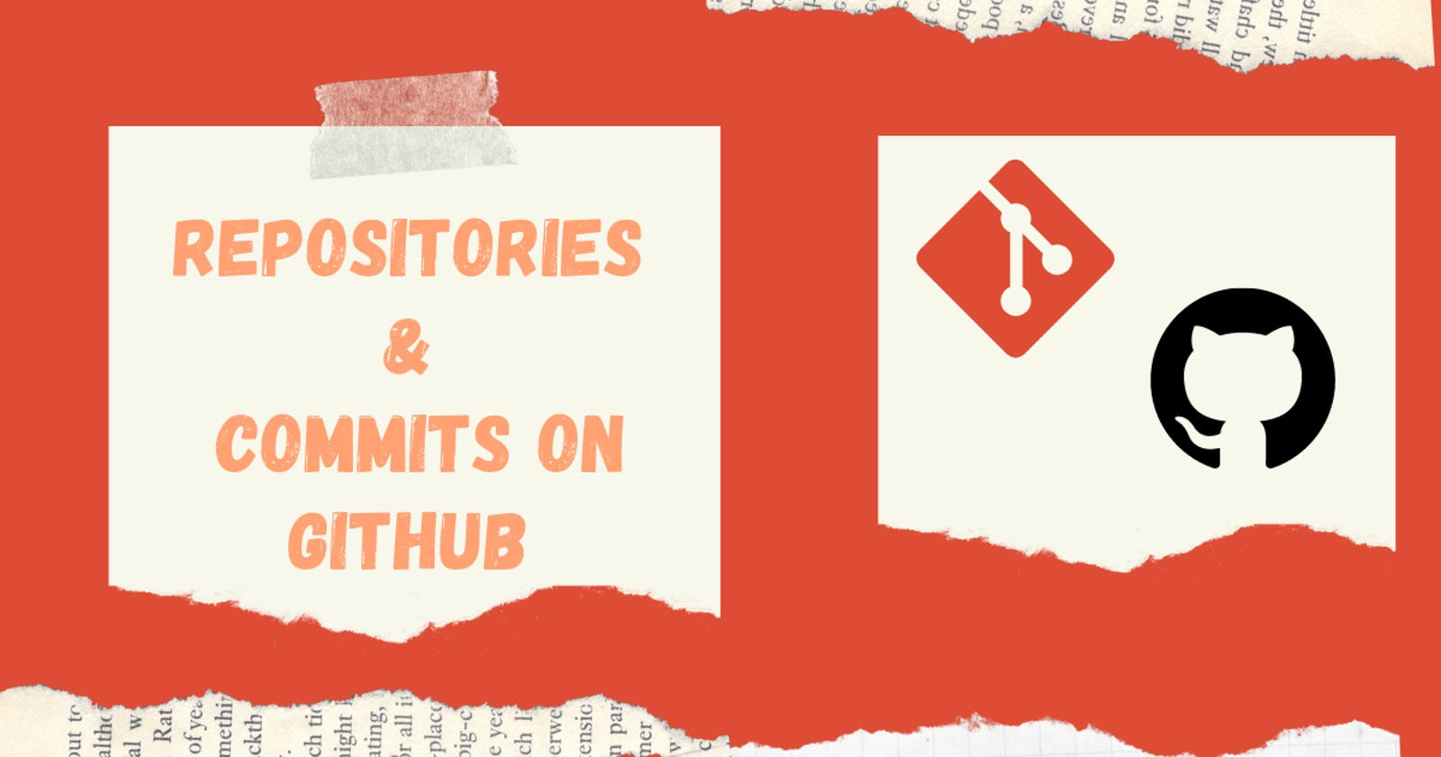 Working with Repositories and Commits in GitHub.
