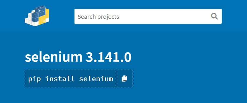 Installing Selenium in your Python Environment