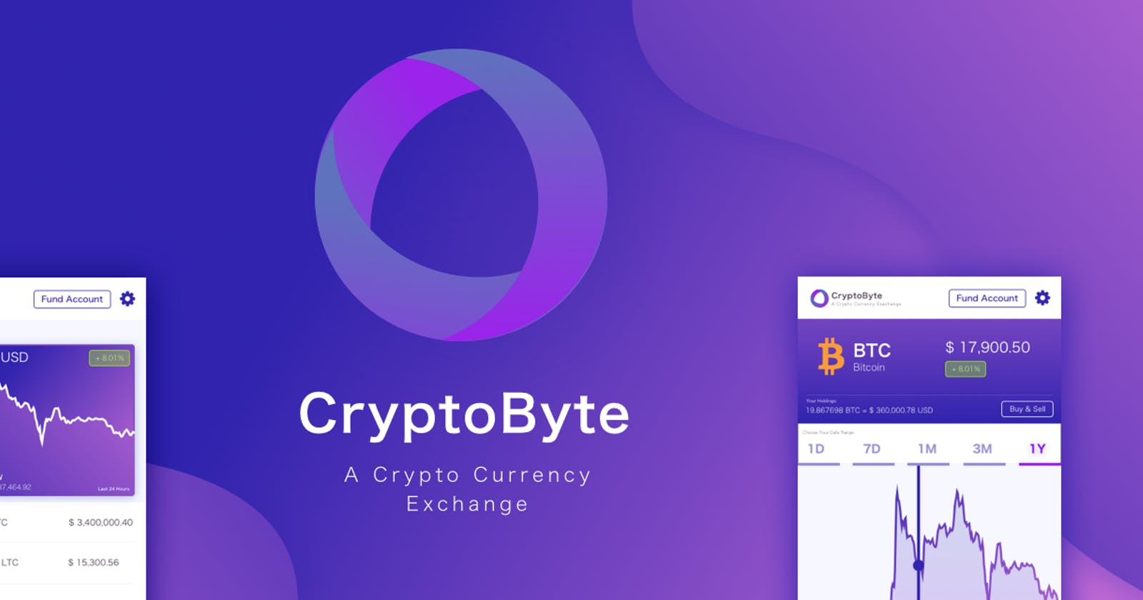 Case Study: Designing the brand and app for CryptoByte