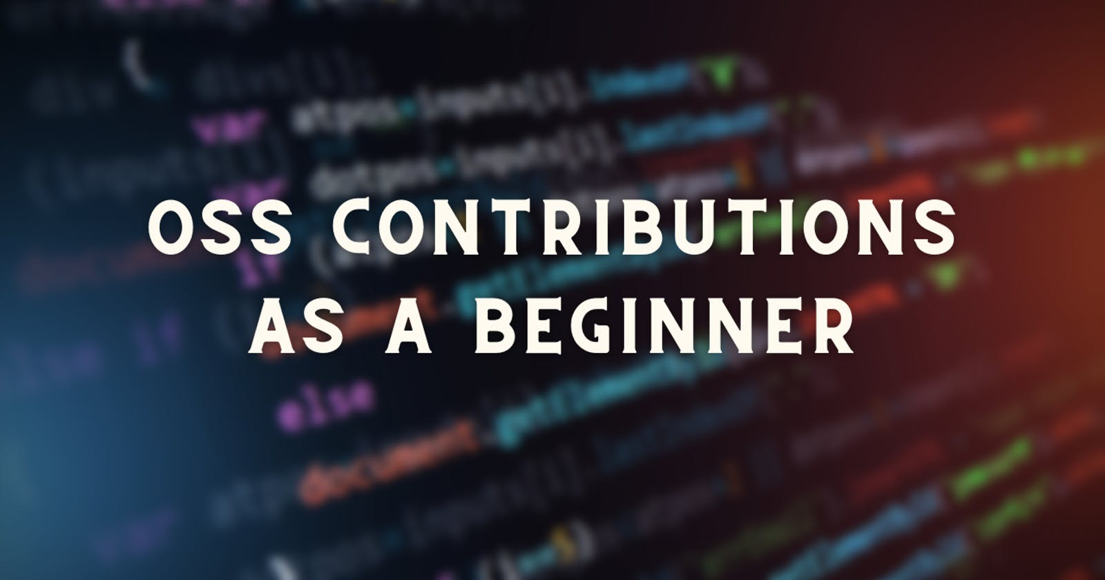 Getting Started With Open-Source: How To Contribute