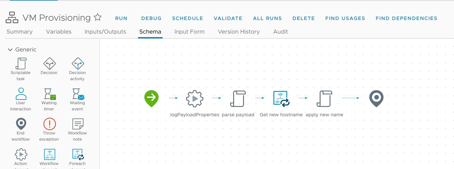Workflow: VM Provisioning
