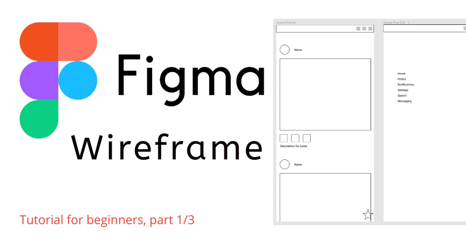Figma Tutorial: Create a Post Page For a Social Media App | Part 1/3