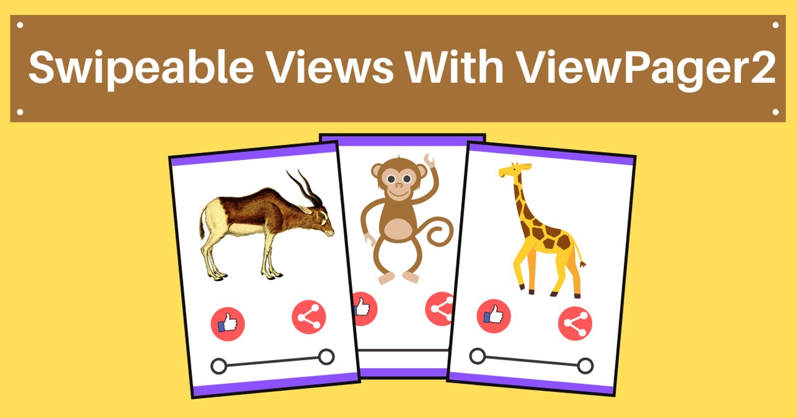 Swipeable Views with ViewPager2