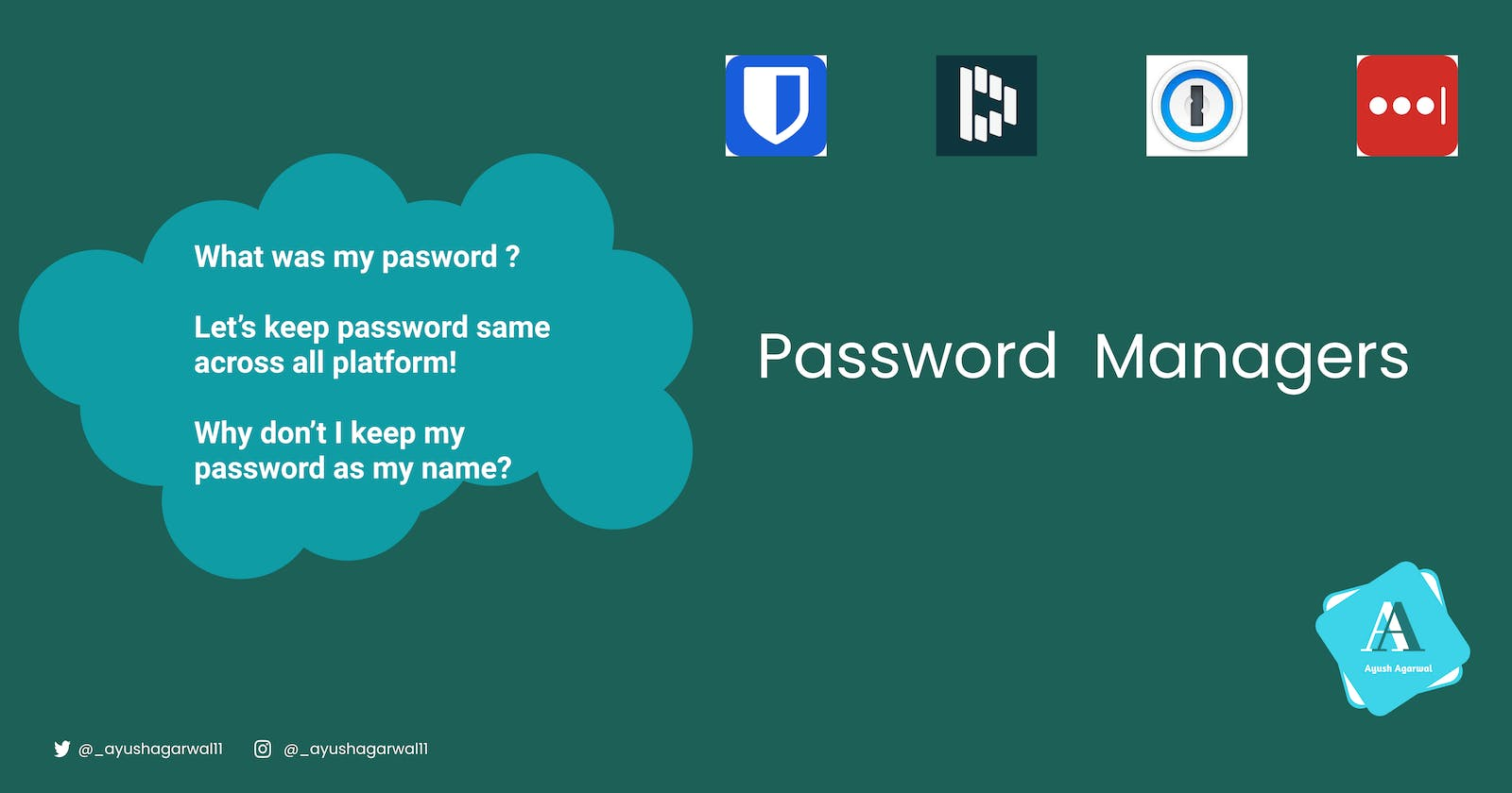 Password Manager - Dope Tech You are missing out On!
