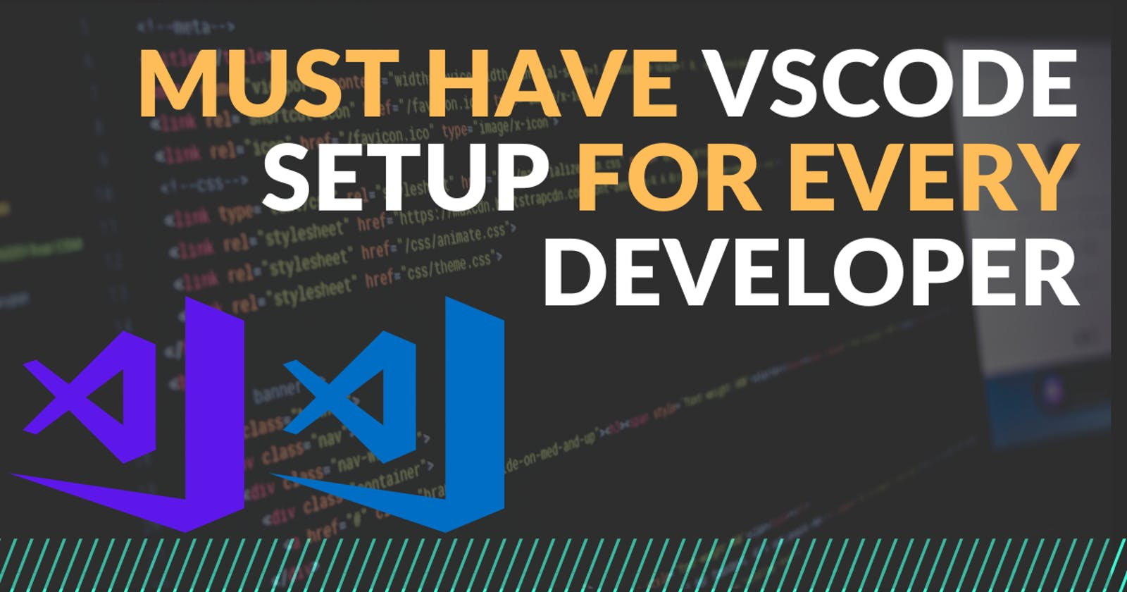 Must have Themes and Extensions for every Developers - Visual studio code setup