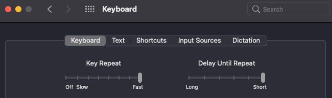 MacOS Tip: Key repeat
