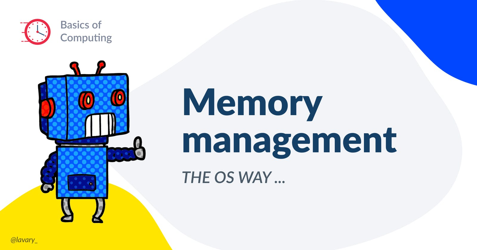 Memory management in the OS way