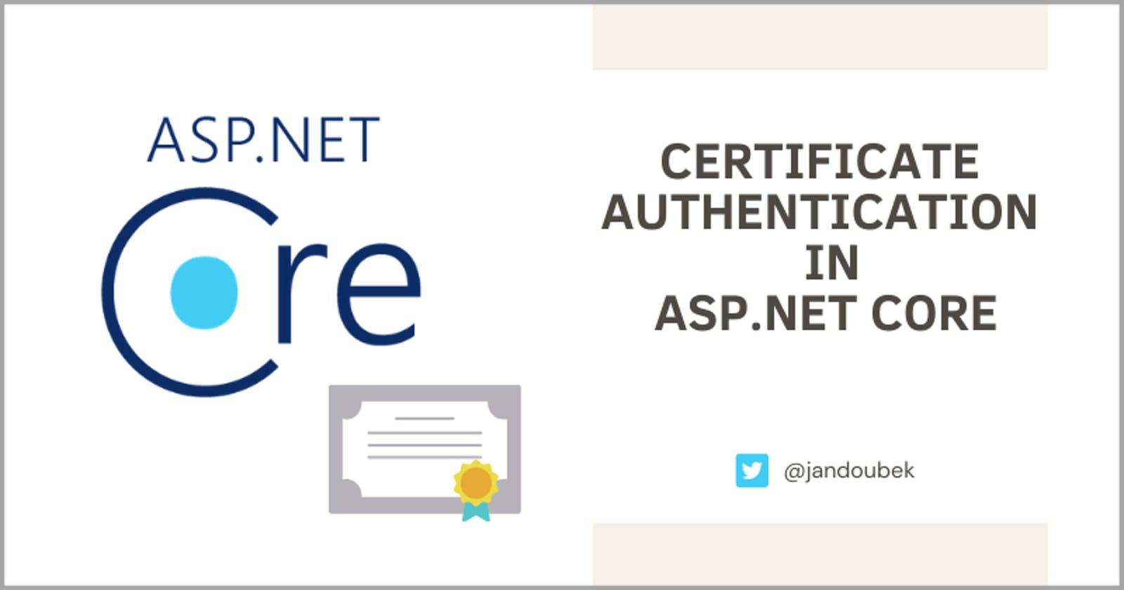 3 Easy Steps to Set Up Certificate Authentication in ASP.NET Core
