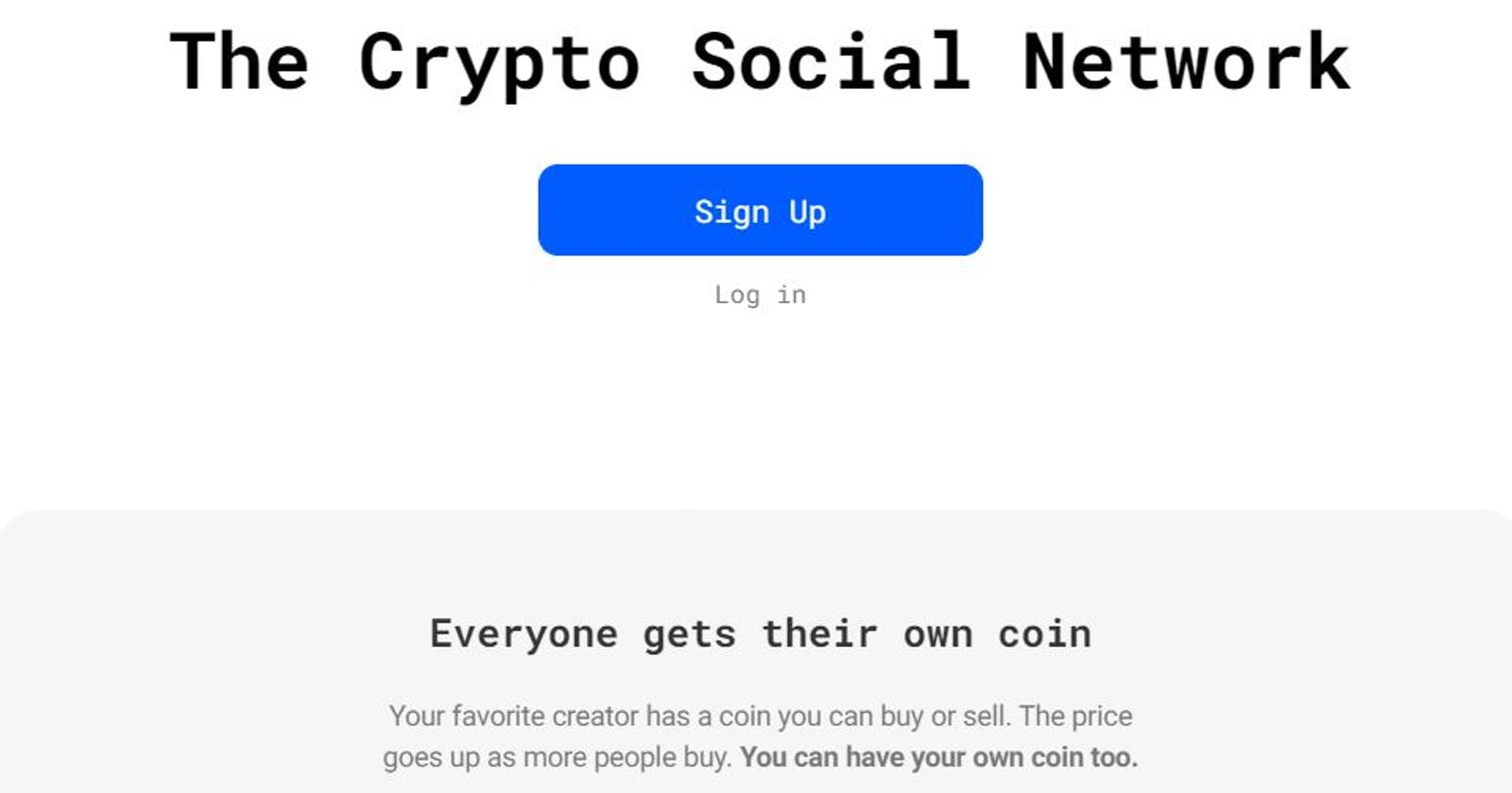 Bitclout - The Crypto Social Network