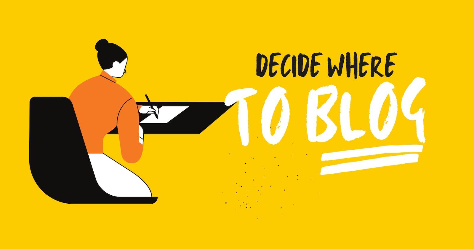 Should Developers Use A Blogging Platform Or Build Their Blog