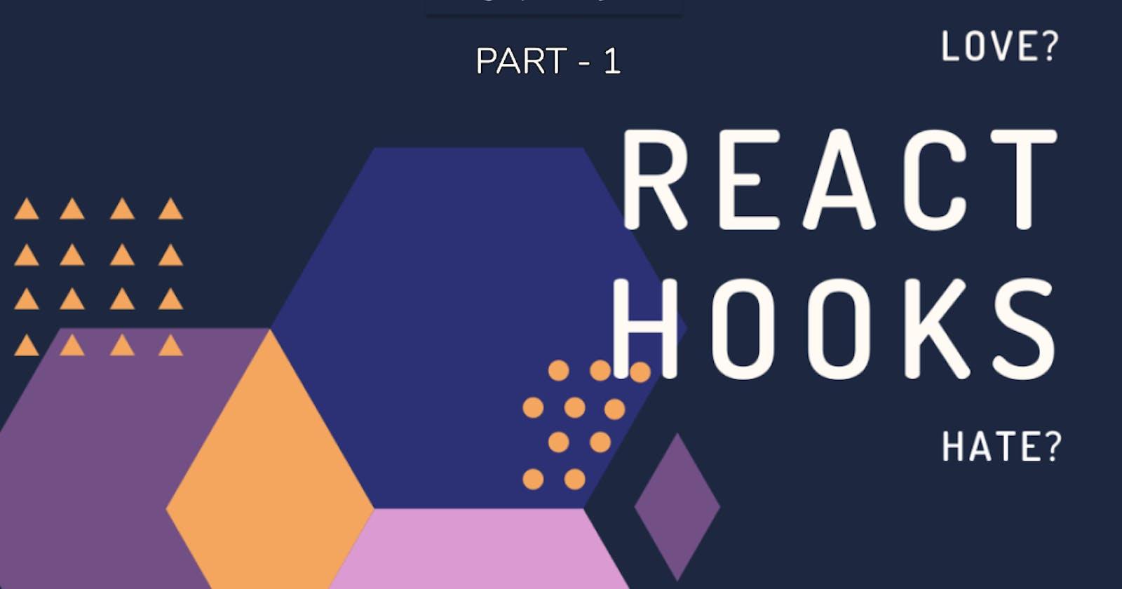 React Hooks: Introduction – Part 1